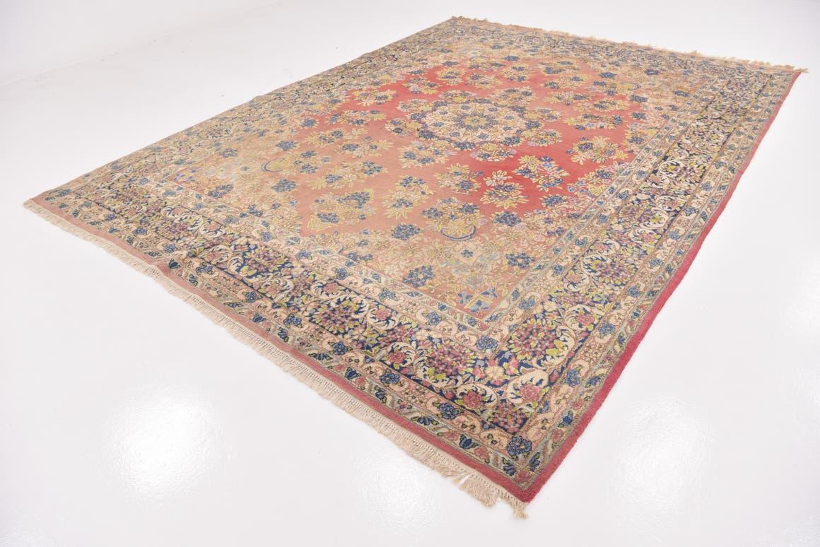 9' 2 x 12' 2 Kerman Persian Rug main image