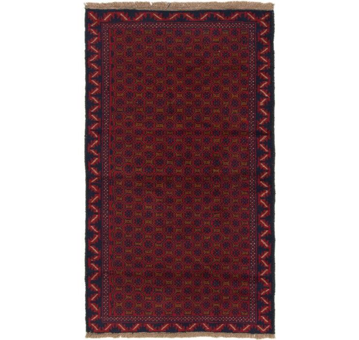 112cm x 190cm Balouch Persian Rug