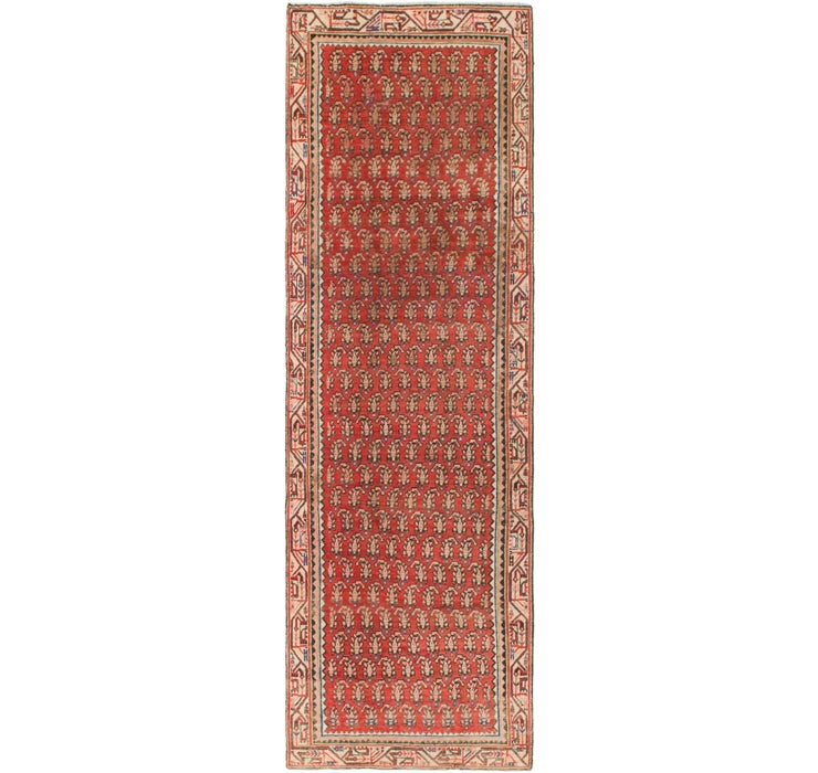 90cm x 305cm Mahal Persian Runner Rug