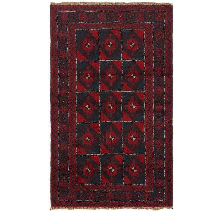 112cm x 188cm Balouch Persian Rug