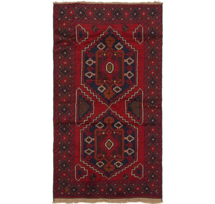 107cm x 198cm Balouch Persian Rug