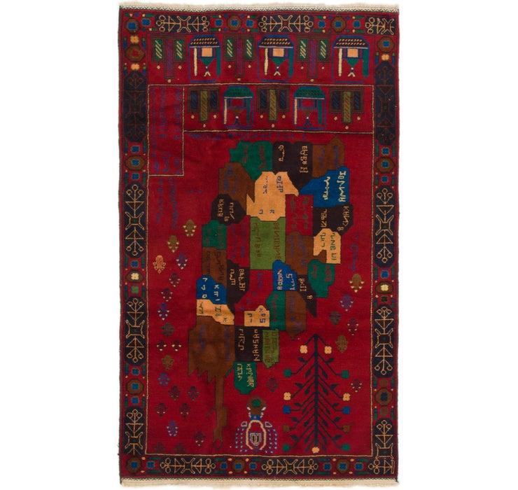 112cm x 200cm Balouch Persian Rug