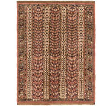 Image of 4' x 5' 6 Bokhara Oriental Rug