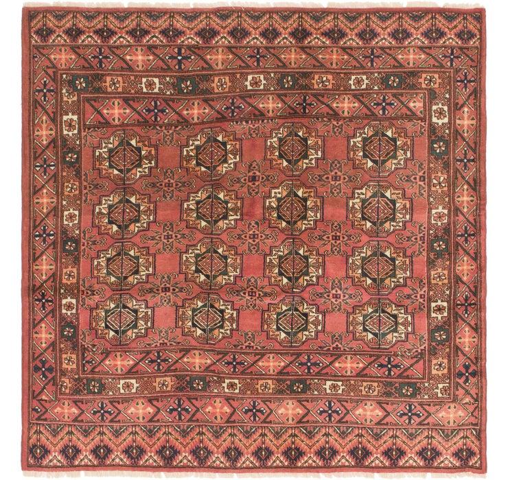 6' 3 x 6' 4 Bukhara Square Rug