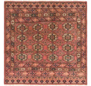 Image of  6' 3 x 6' 4 Bokhara Square Rug