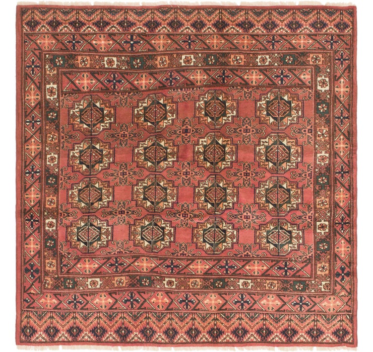 Image of  6' 3 x 6' 4 Bukhara Square Rug