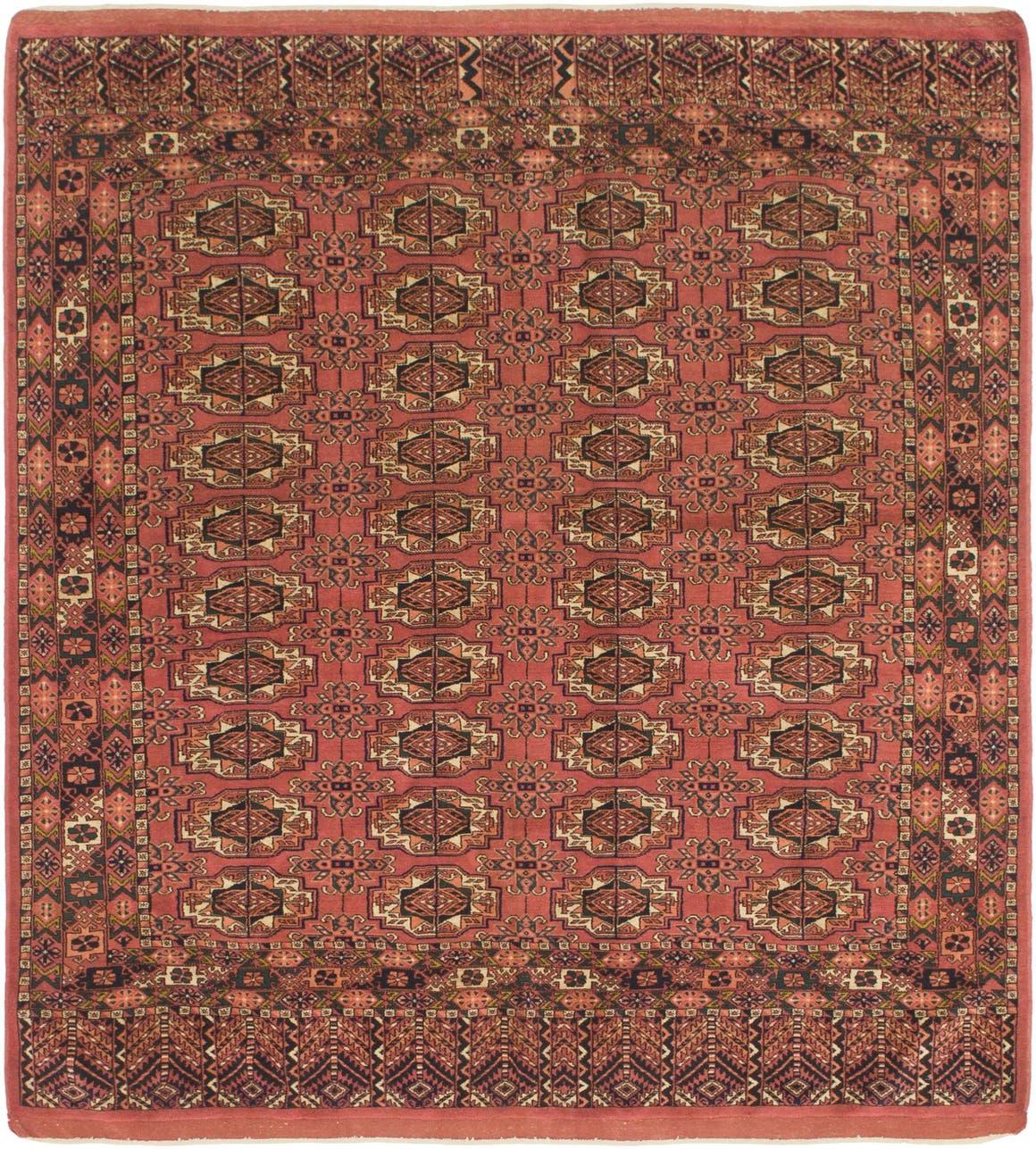 6' 6 x 7' 2 Bokhara Square Rug main image