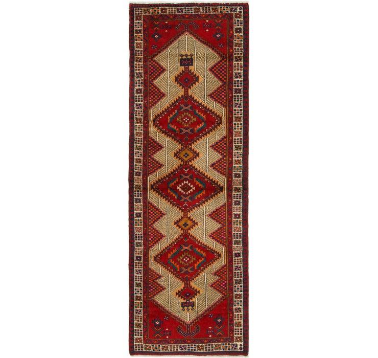 Image of 105cm x 300cm Ardabil Persian Runner ...