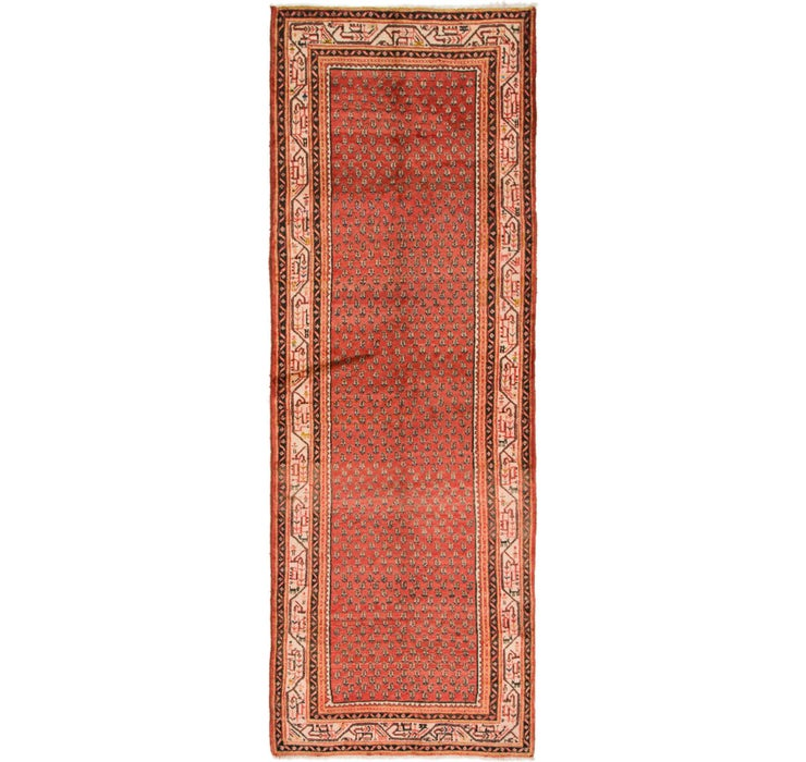 3' 8 x 10' 8 Botemir Persian Runner ...