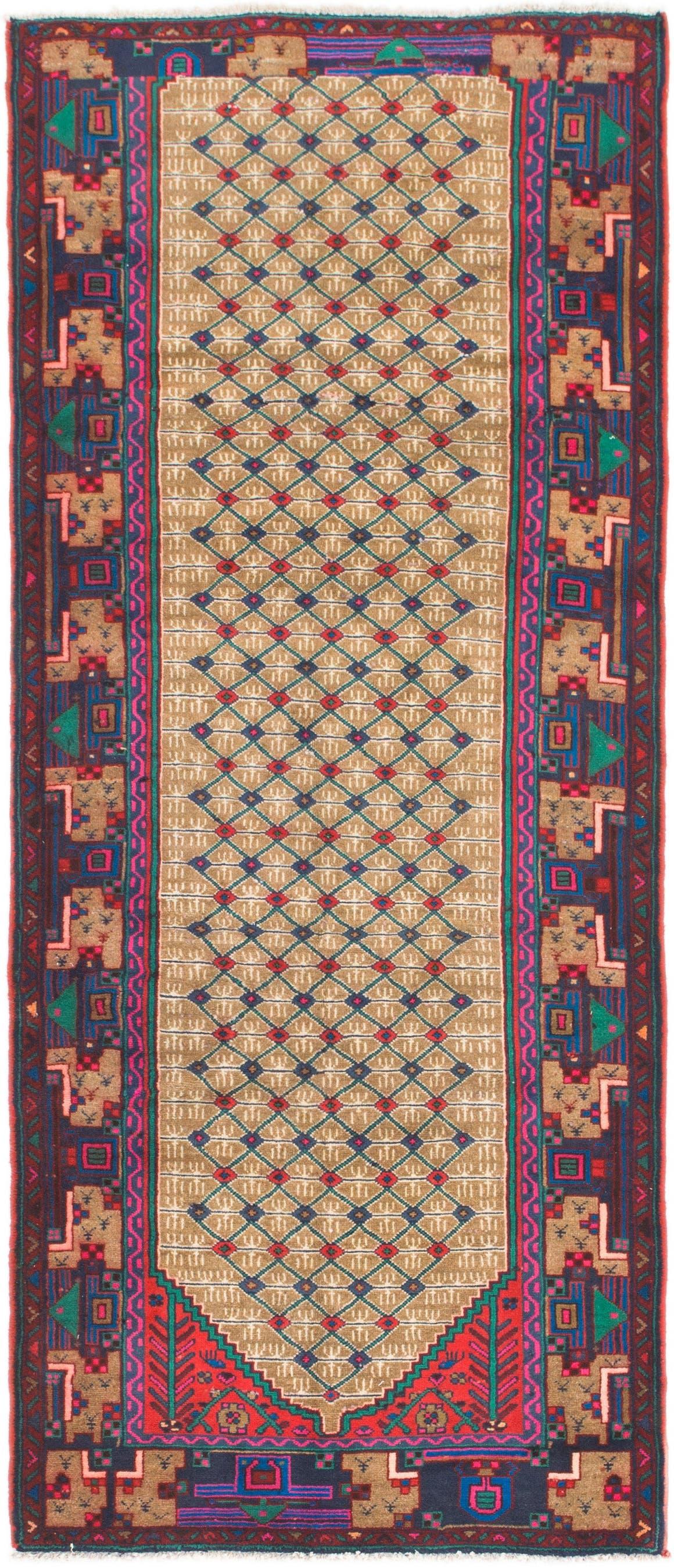 3' 9 x 9' 2 Koliaei Persian Runner Rug main image