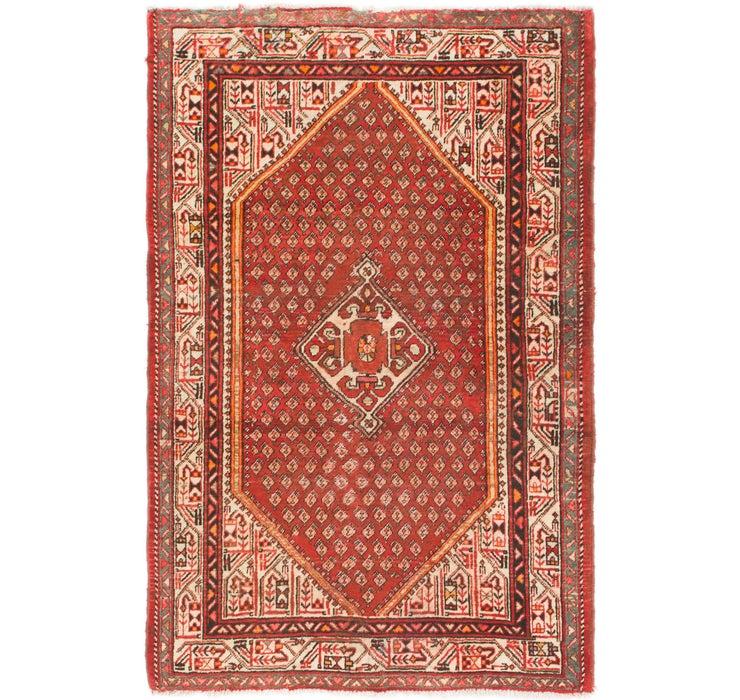 4' 2 x 6' 6 Farahan Persian Rug