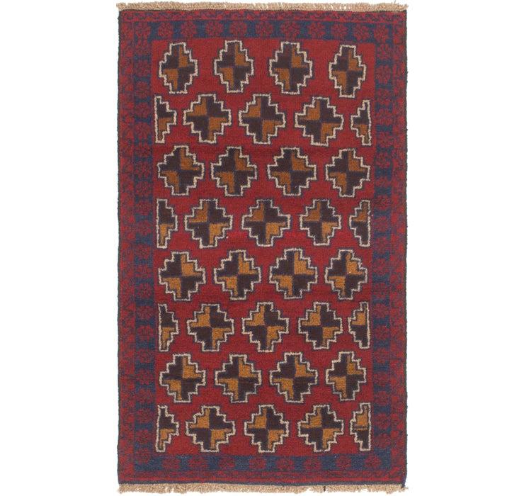 80cm x 140cm Balouch Persian Rug