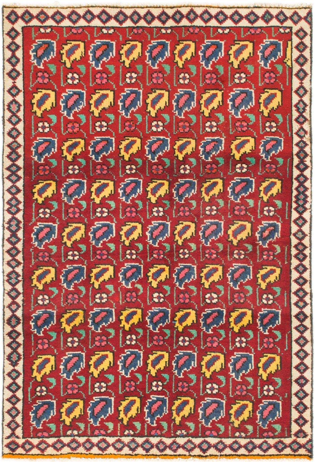 3' 2 x 4' 6 Tabriz Persian Rug main image