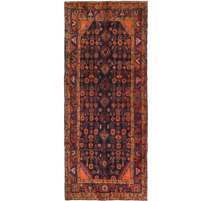 Image of 3' 10 x 9' 5 Malayer Persian Runner ...