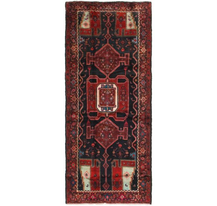 127cm x 315cm Zanjan Persian Runner Rug