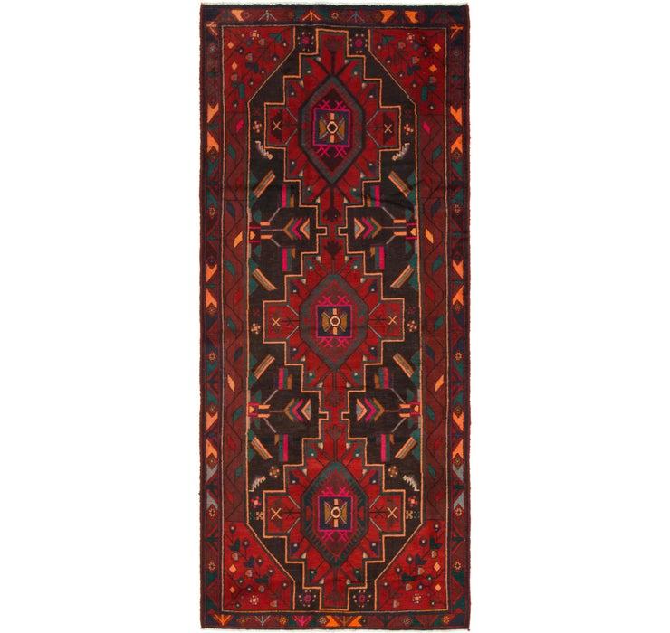 127cm x 292cm Zanjan Persian Runner Rug