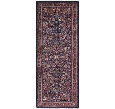 Image of  3' 10 x 10' 4 Mahal Persian Runner Rug