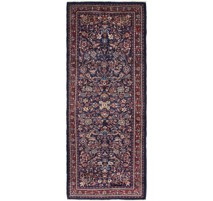 Image of 117cm x 315cm Mahal Persian Runner Rug