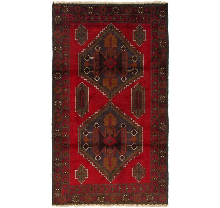 115cm x 200cm Balouch Persian Rug