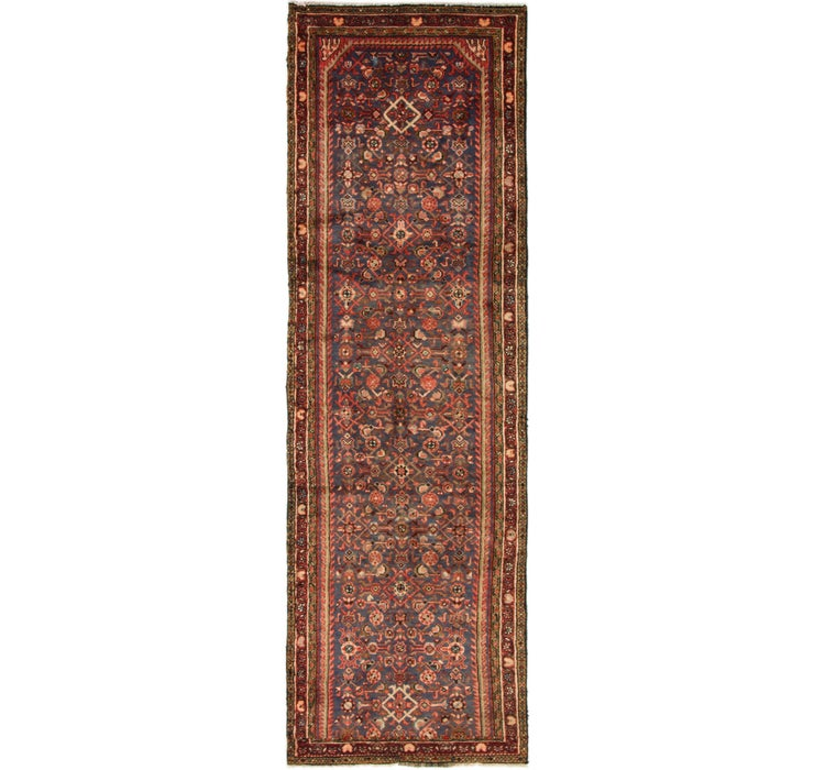 102cm x 330cm Hossainabad Persian Run...