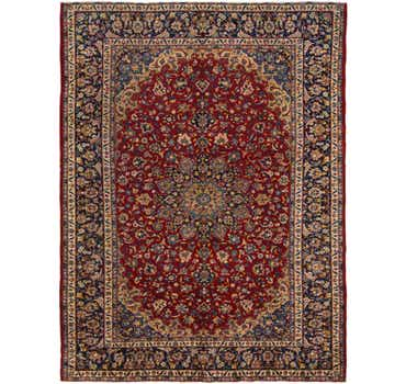 Image of 9' 8 x 13' Isfahan Persian Rug