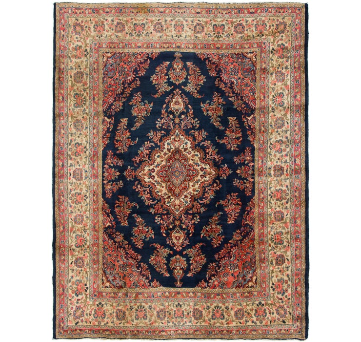 267cm x 360cm Mahal Persian Rug