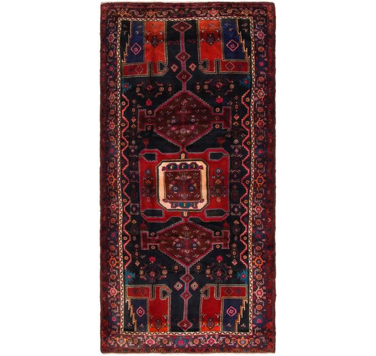 4' 7 x 9' 5 Zanjan Persian Runner Rug