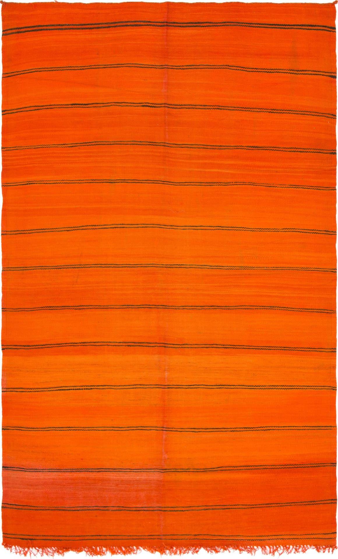 Orange  5' 5 x 9' 8 Moroccan