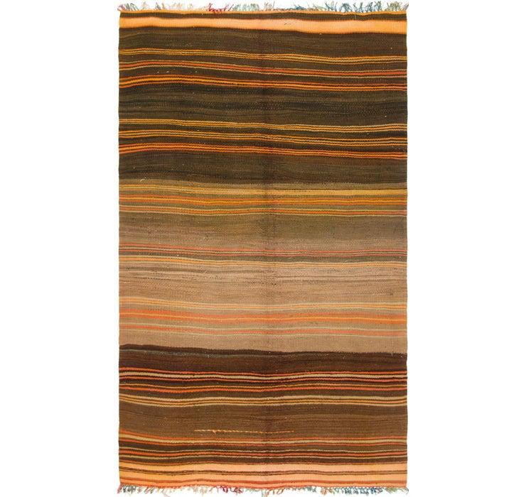 5' x 8' 8 Moroccan Rug