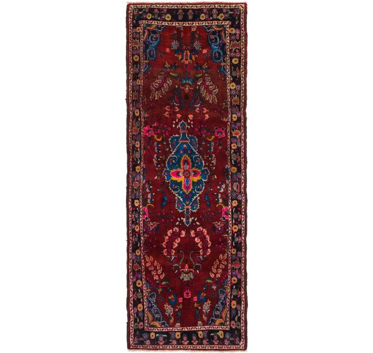 115cm x 335cm Hamedan Persian Runner ...