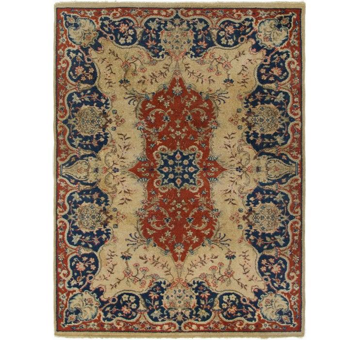 200cm x 270cm Kerman Persian Rug
