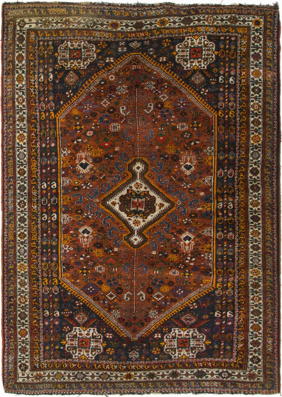 5' 9 x 8' 3 Shiraz Persian Rug main image