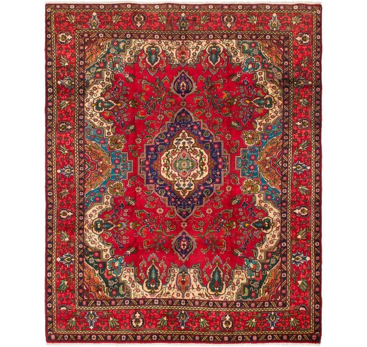 305cm x 370cm Tabriz Persian Rug