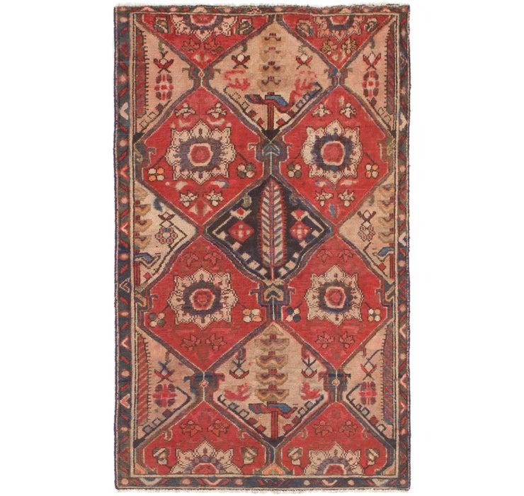 4' 2 x 6' 8 Shiraz Persian Rug