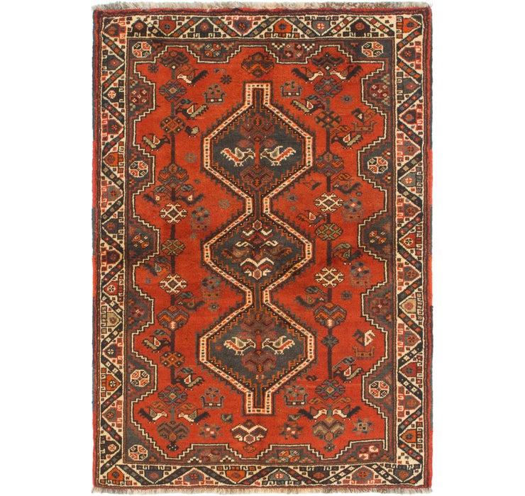 3' 7 x 5' 3 Ghashghaei Persian Rug