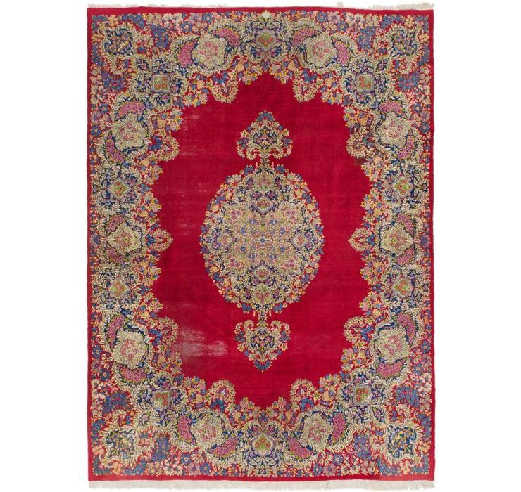 300cm x 415cm Kerman Persian Rug