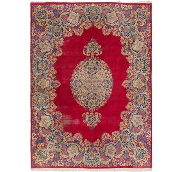 9' 10 x 13' 7 Kerman Persian Rug main image