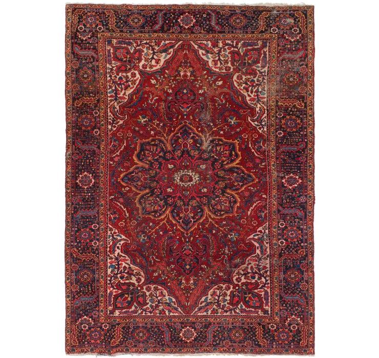 10' 5 x 14' 8 Heriz Persian Rug