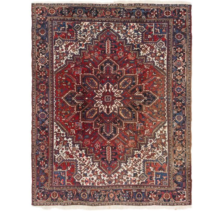 262cm x 330cm Heriz Persian Rug