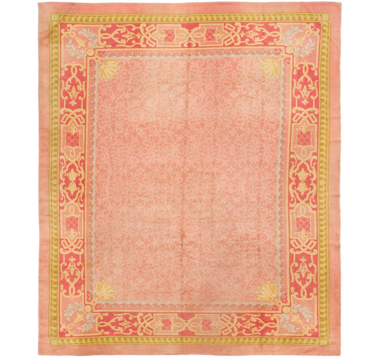 365cm x 437cm Antique Finish Rug