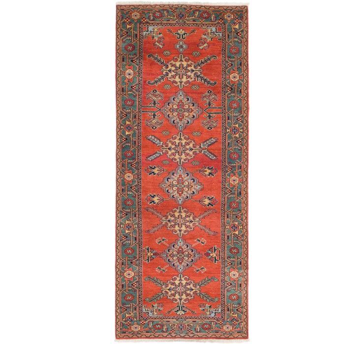 117cm x 315cm Heriz Persian Runner Rug