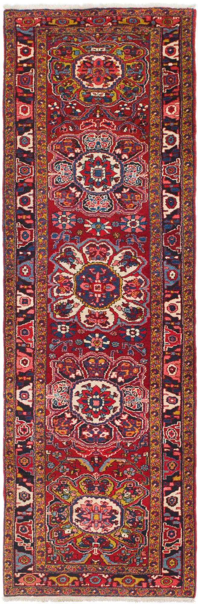 3' 7 x 12' 4 Heriz Persian Runner Rug main image