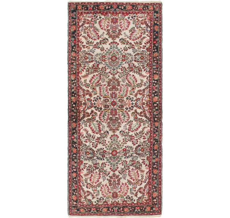 Image of 135cm x 315cm Mehraban Persian Runner...