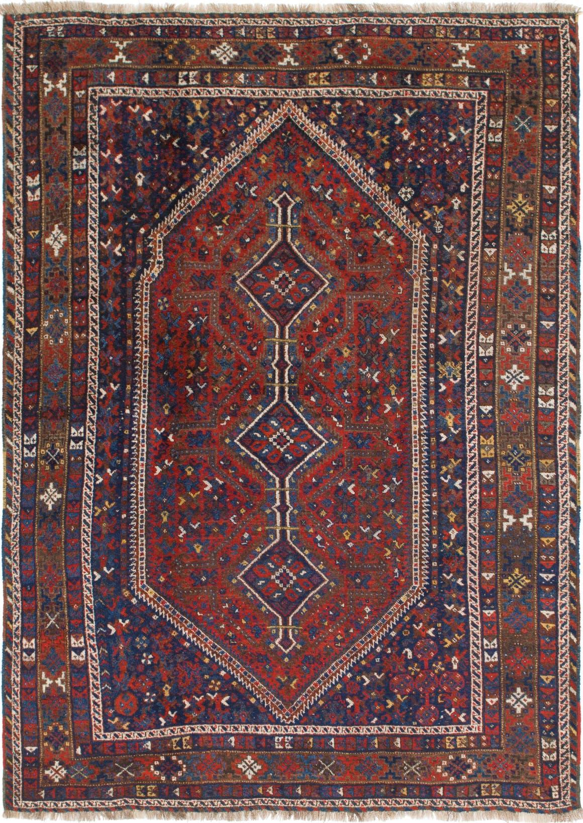 7' 3 x 10' 4 Shiraz Persian Rug main image