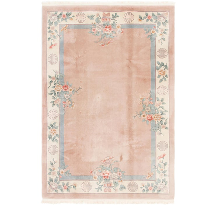 198cm x 295cm Antique Finish Rug