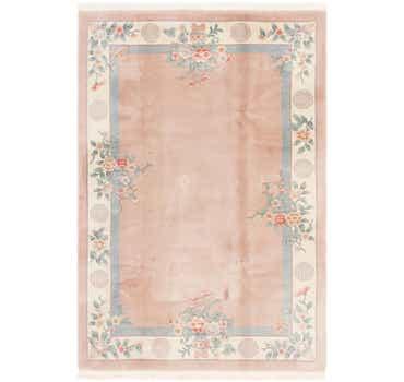 Image of 6' 6 x 9' 8 Antique Finish Rug