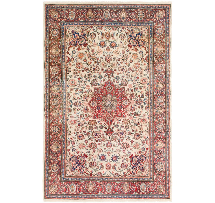 6' 9 x 10' 5 Sarough Persian Rug