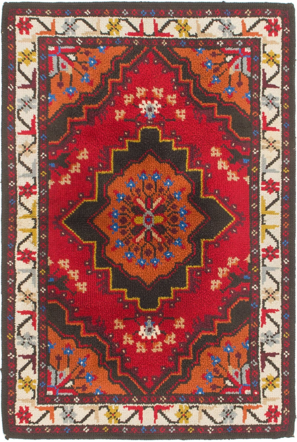 Red 117cm x 173cm Moroccan Rug | AU Rugs