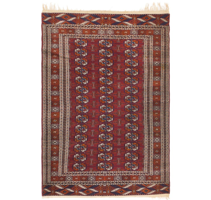 3' 10 x 6' Bokhara Oriental Rug