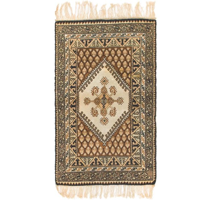 3' x 5' 4 Moroccan Rug